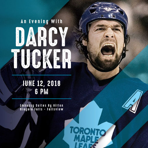 Hotel Packages - An Evening With Darcy Tucker VIP Package - Four Points by Sheraton Niagara Falls Hotel