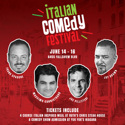 Hotel Packages - Italian Comedy Festival Package - Four Points by Sheraton Niagara Falls Hotel