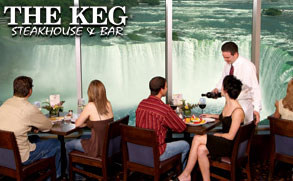 The Keg Steakhouse & Bar in Niagara Falls, Canada